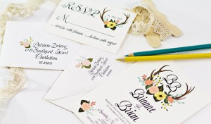 Wedding Invitations, BeholdDesignz