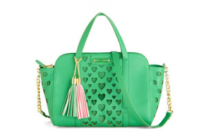 Betsey Johnson Green Bag