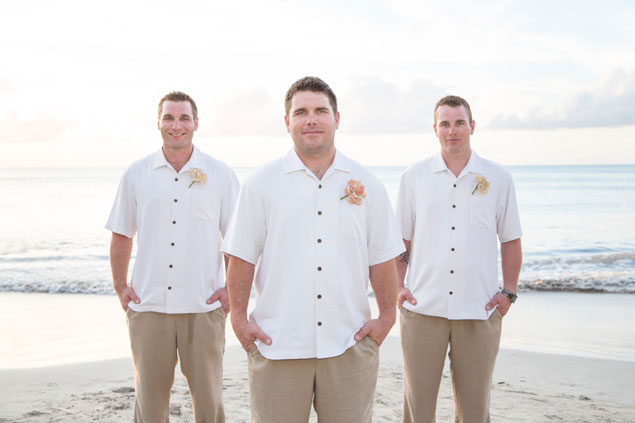 Beach Groomsmen Attire