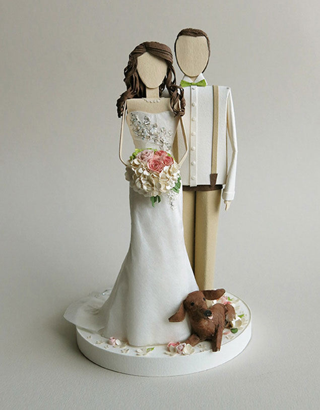 Concarta Paper Wedding Sculptures