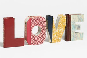 Love Book Art