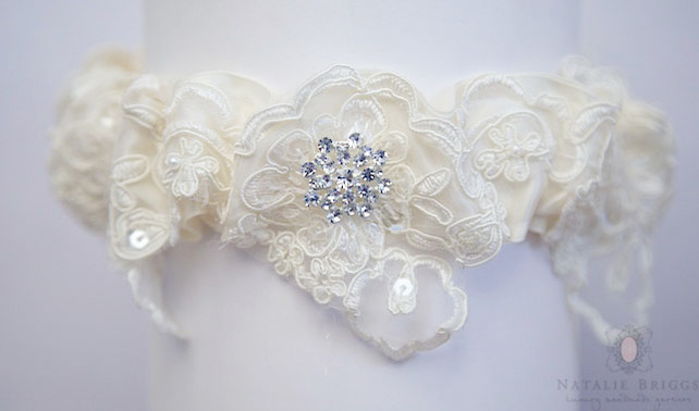 Natalie Briggs Wedding Garters