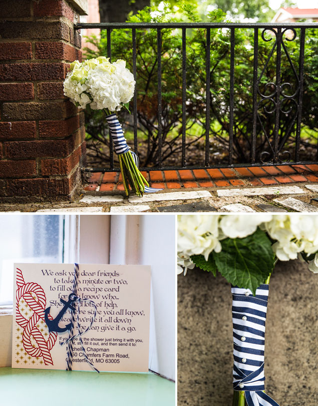 Nautical Wedding Details