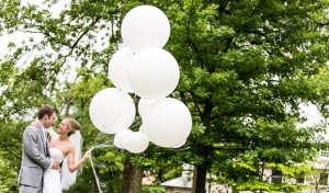 Balloon Wedding Photos