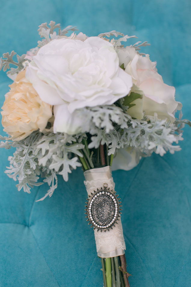 Vintage Inspired Bridal Bouquet