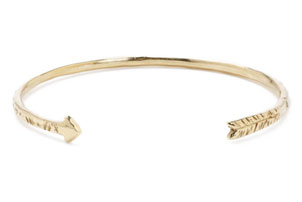 Gold Arrow Cuff