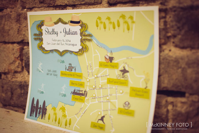 Custom Wedding Maps by CW Design
