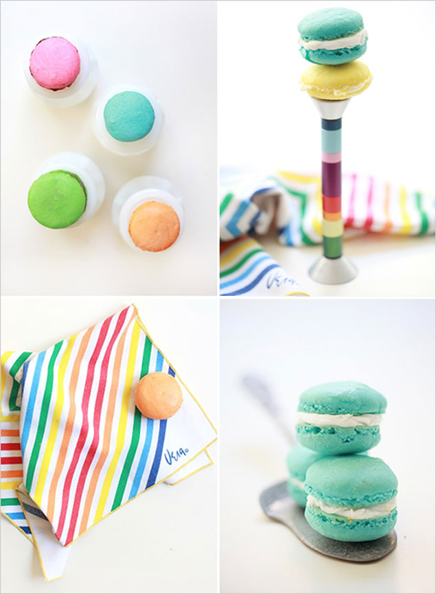 Colorful DIY Macarons
