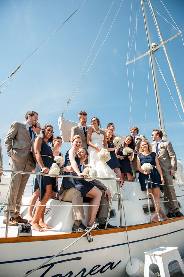 Nautical Wedding Photos