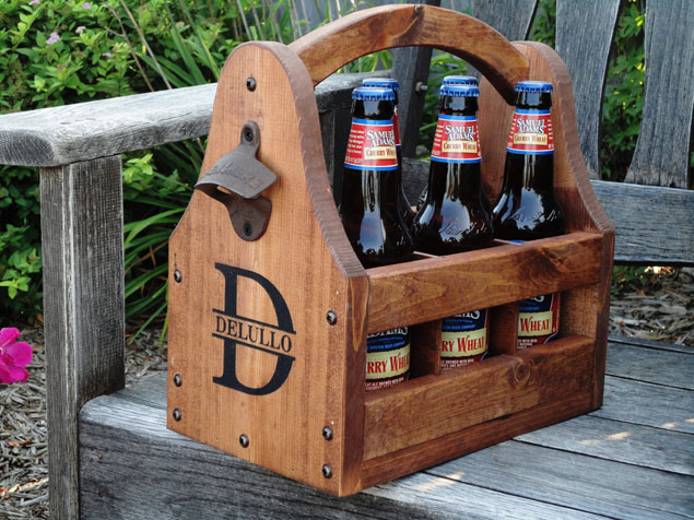 Etsy Eye Candy Wooden Groomsmen Gifts