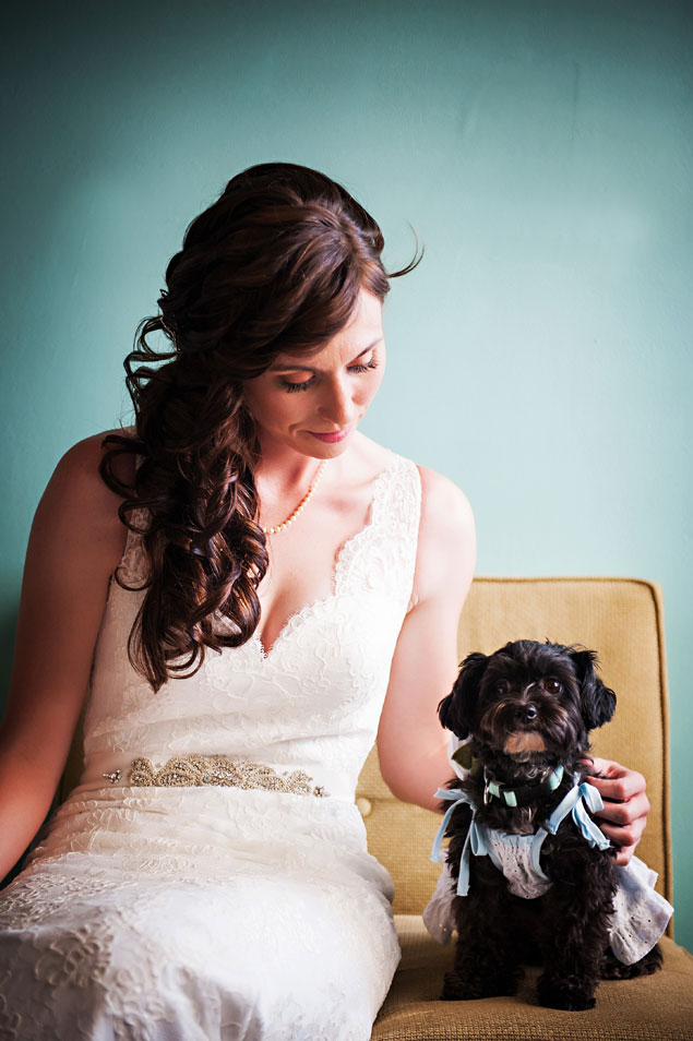 Dogs in Wedding Photos
