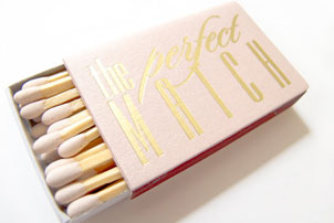 Perfect Match Favors