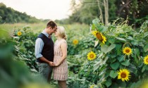 Sunflower Engagement Shoot