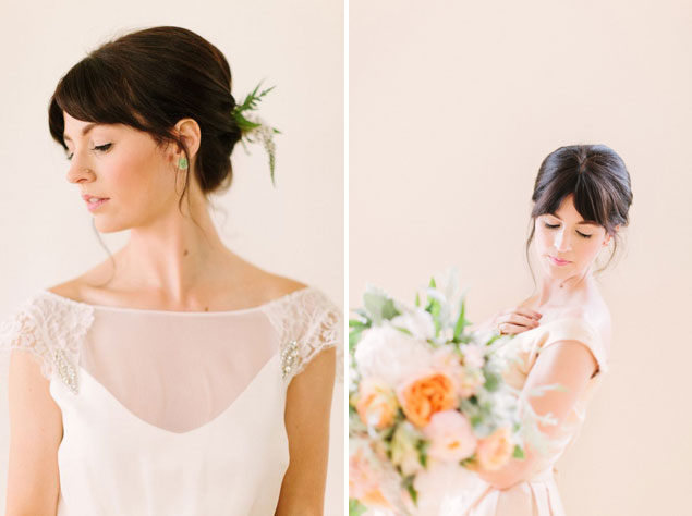Bridal Hairstyle with Bangs