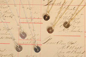 Bridesmaid Letter Necklaces