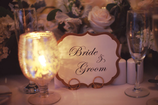 Bride & Groom Sign