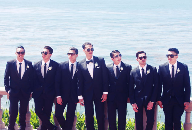 Groom and Groomsmen Attire