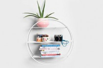 Circle Wire Shelf