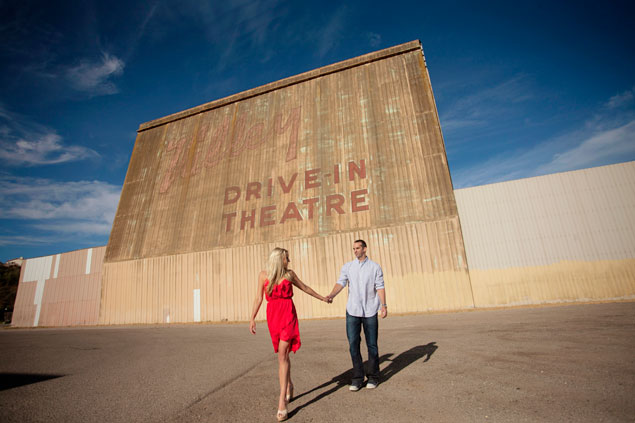 Drive - In Engagement Shoot