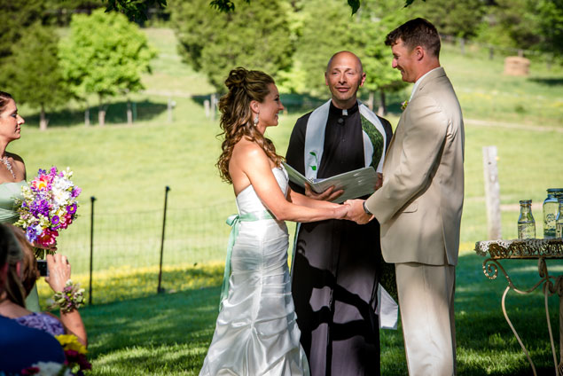 Farm Wedding Ceremony