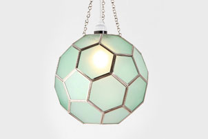 Mint Honeycomb Light
