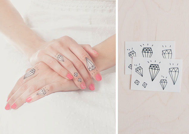 Temporary Diamond Tattoos
