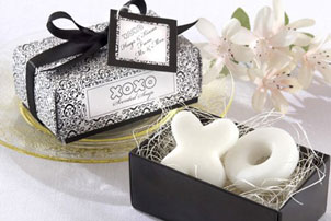 XO Soap Wedding Favors