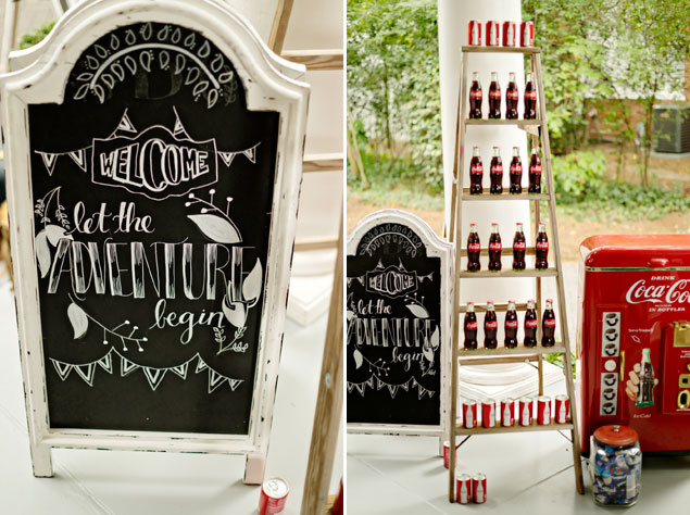 Coca Cola Wedding