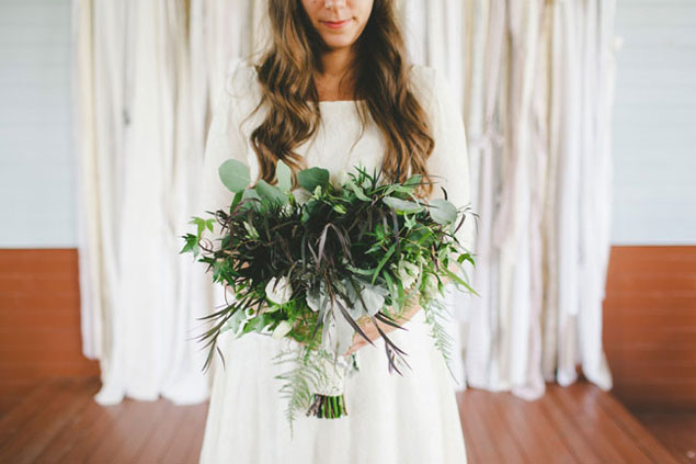 Dark Green Bouquet