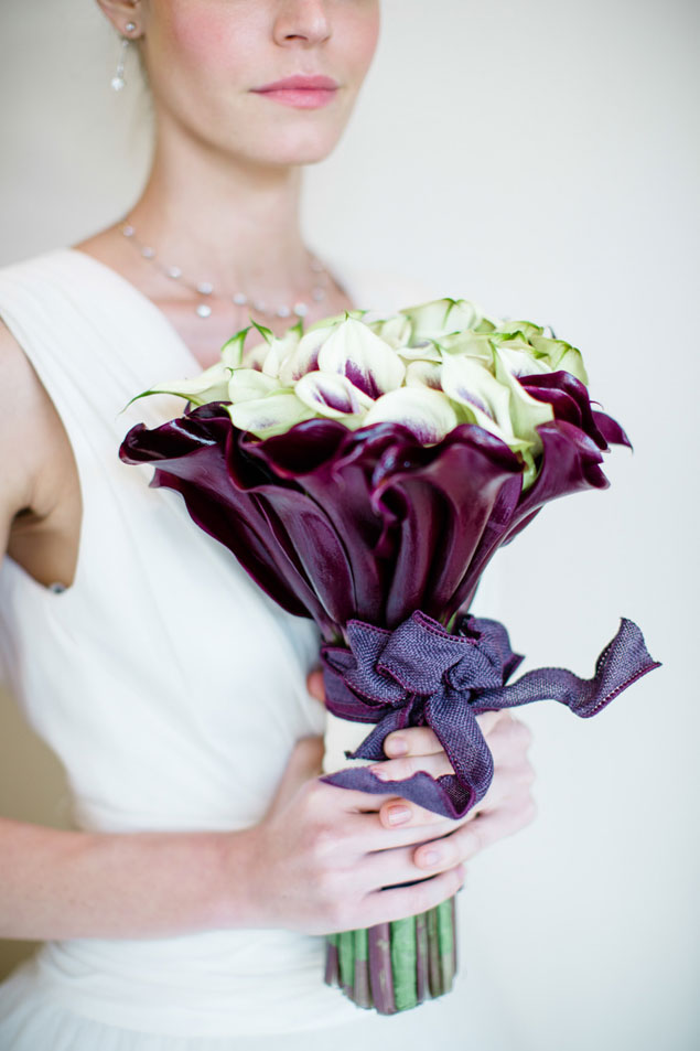 Unique Dark Wedding Bouquets