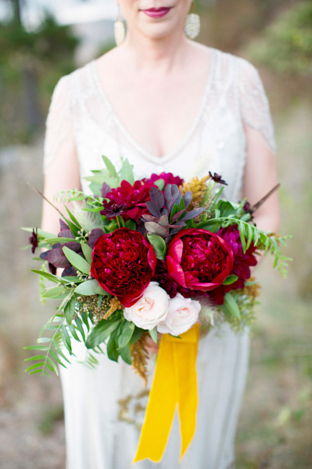 Dark Red Bouquets