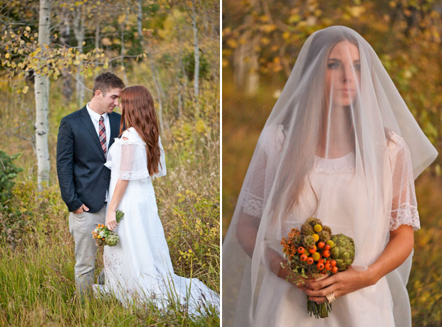 Styled Fall Wedding Shoot