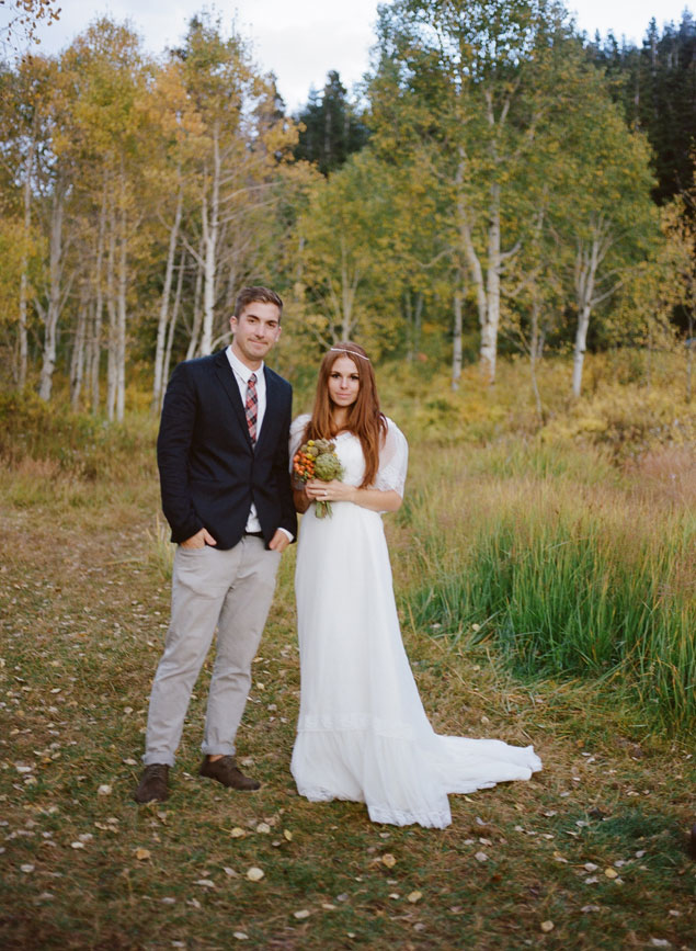 Fall Wedding Photo Shoot