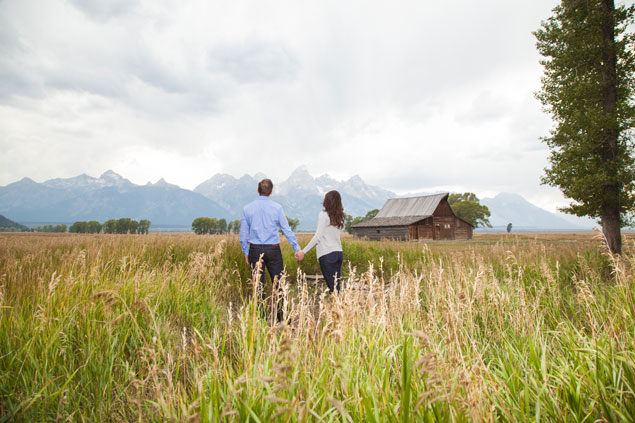 Wyoming Engagement Photos