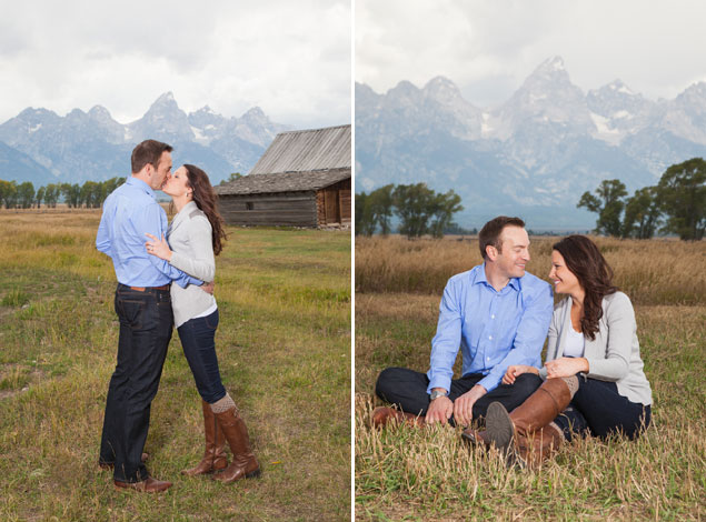 Wyoming Engagement Photography