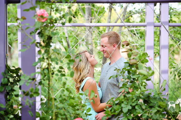 Garden Engagement Pictures