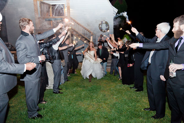Fun Wedding Exits