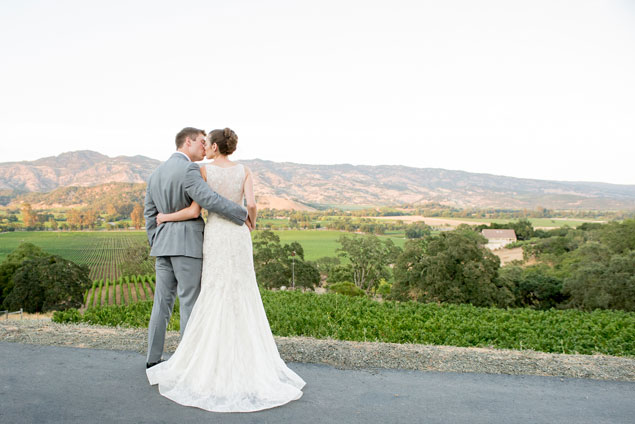 Vineyard Wedding Portraits