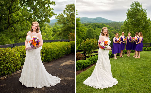 Bride & Bridesmaid Photos