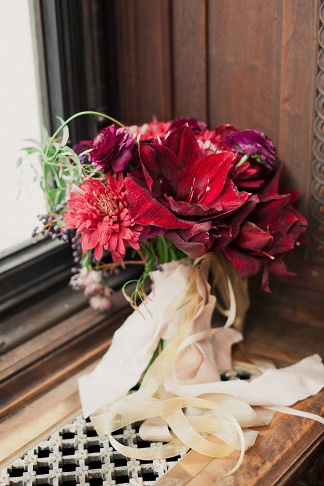 Modern Red Bouquet