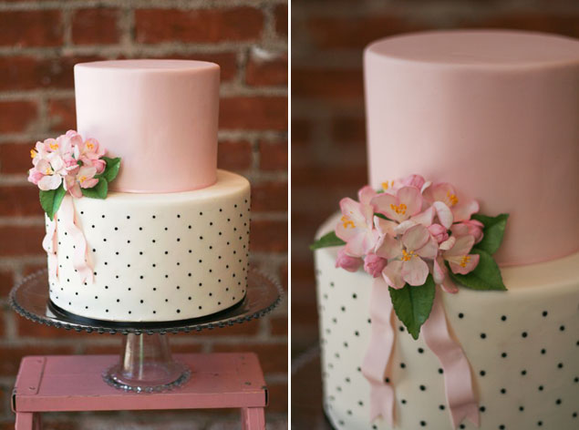 Polka Dot Wedding Cakes
