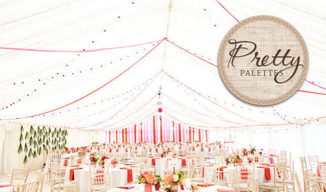 Pink and Red Wedding Colors