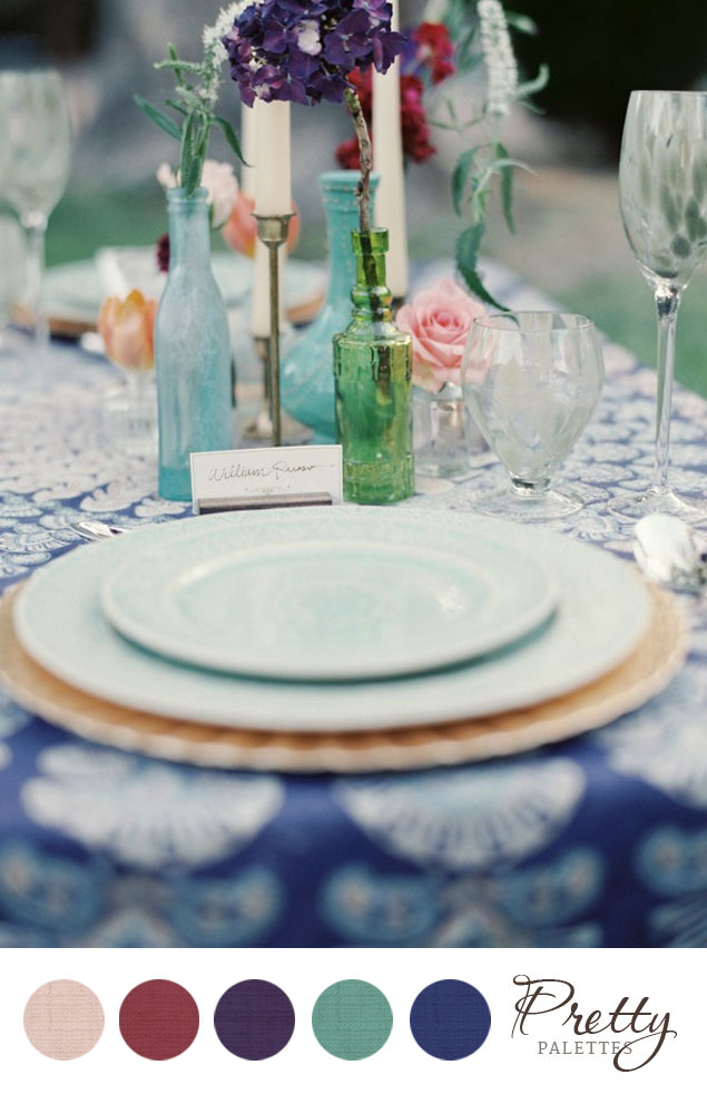 Teal Wedding Colors