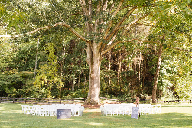 Outdoor Ceremony Location
