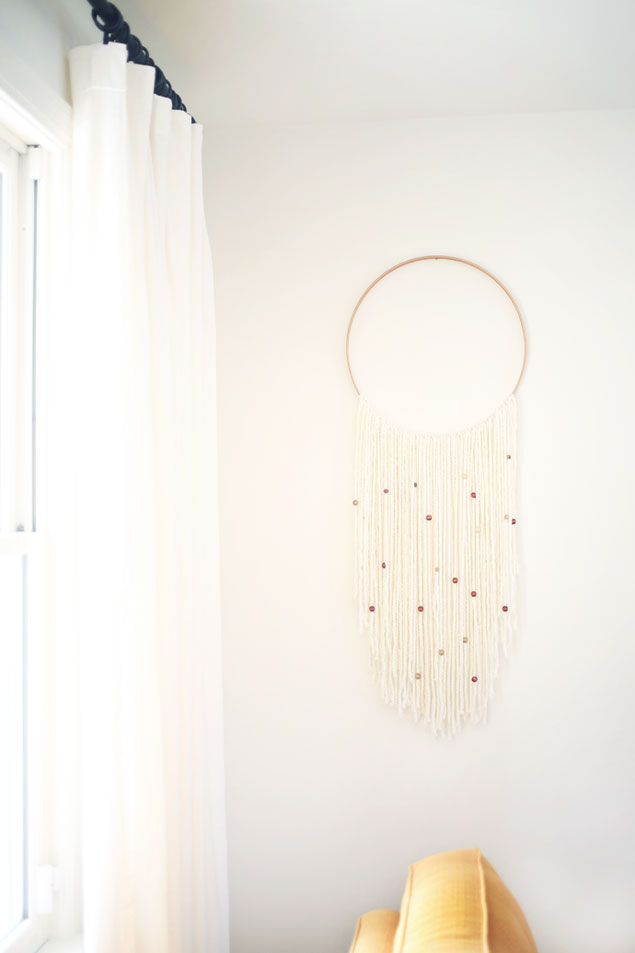 DIY Hoop Wall Hanging
