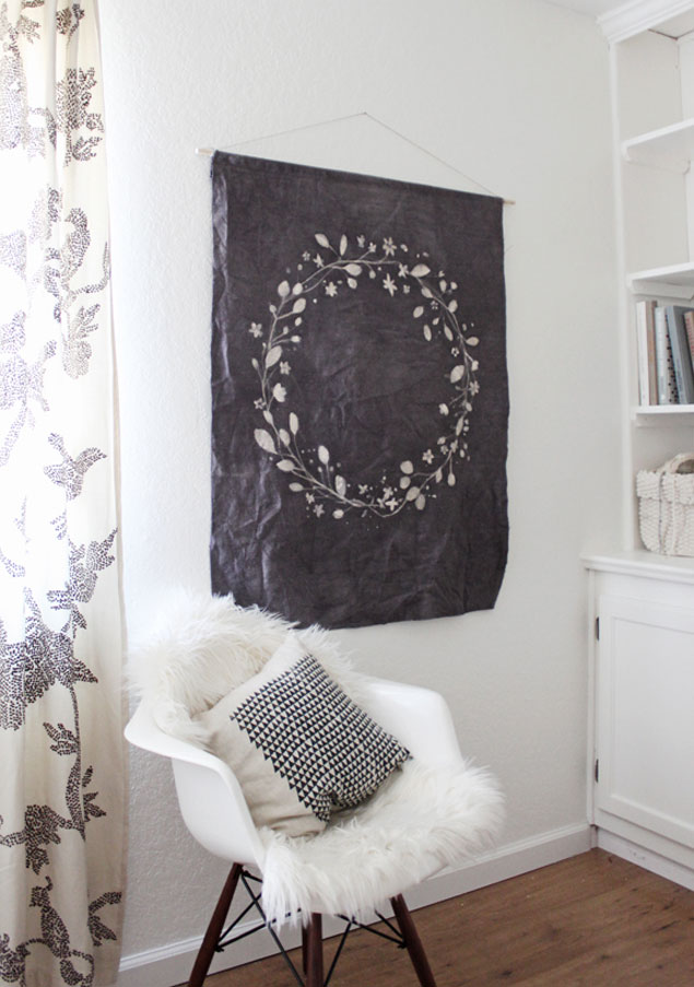 DIY Batik Wall Hanging