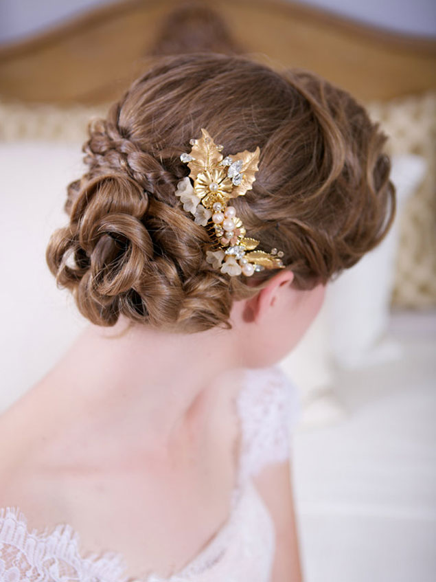 Gold Hair Accessories Us221