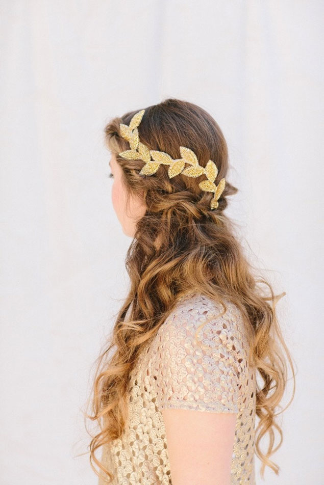 Gold Vine Hair Accessories