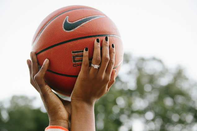 Basketball Engagement Shoot
