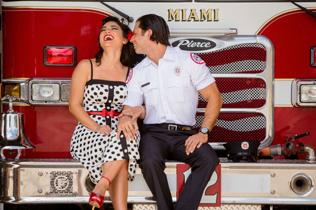 Fire Station Photo Shoot